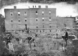 Saints Rest in 1857, via MSU Archives and Historical Records
