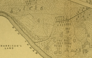 1880's Map of MSU, via MSU Archives and Historical Records
