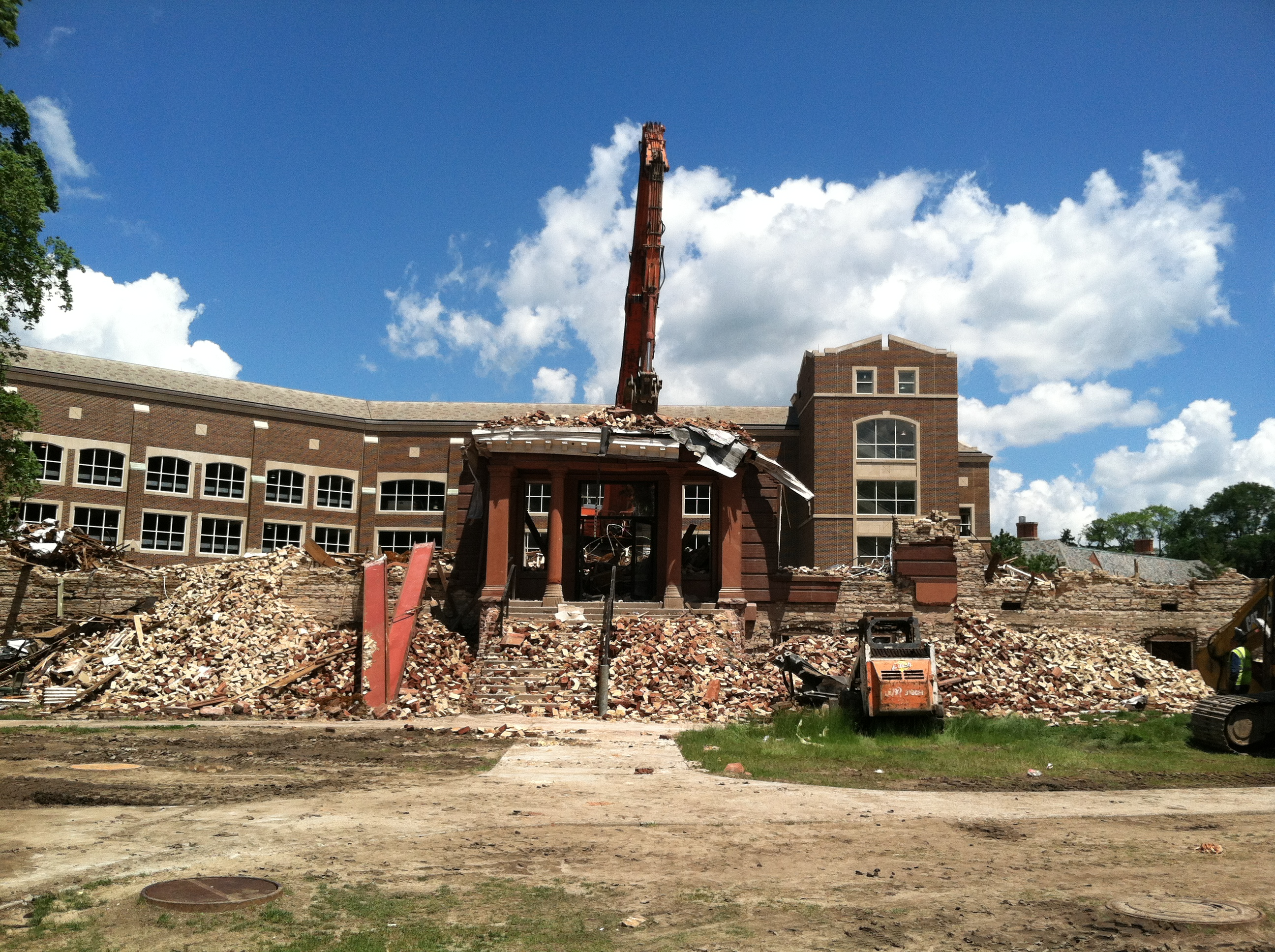 Final days of Morrill Hall, via Katy Meyers