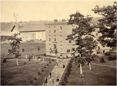 Saints' Rest 1865, via MSU Archives on Flickr