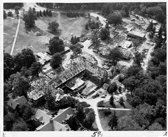 Landon Construction, via MSU Archives and Historical Records