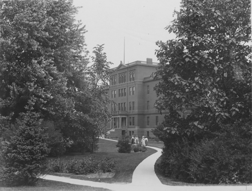 Morrill Hall in 1900, via MSU Archives and Historical Records