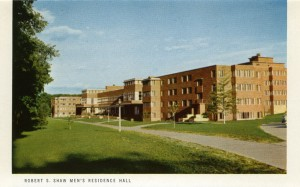 Postcard of Shaw Hall (1995)