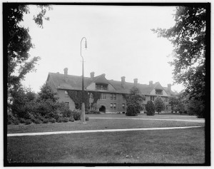 Howard Terrace, 1904. Courtesy MSU Archives