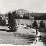 Auditorium C. 1950, courtesy MSU Archives