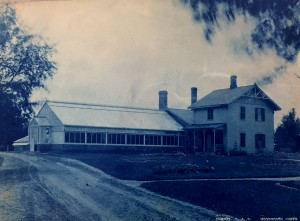 Prof. Gunsen's Residence, ca. 1920. Courtesy MSU Archives