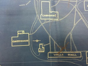 1924 Campus Map Greenhouse