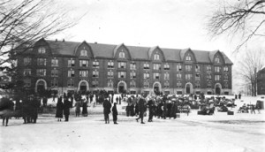 The second Wells Hall 1916