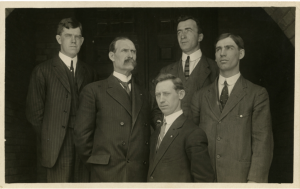 Faculty members of the Horticulture Department, 1910