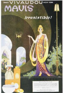 Vintage Perfume Ad 1920s - Source
