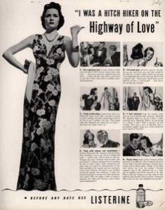 Vintage Listerine Ad