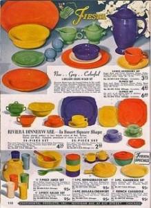 Fiesta ware ad
