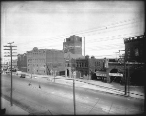 Post-1893 Philip Kling Brewery with new and expanded brewhouse: Image Source