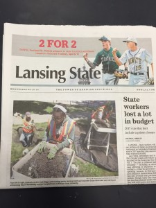 CAP in the Lansing State Journal