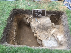 Beal's Lab Excavations Unit One