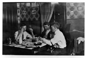 Students eating in their dorm circa 1914 - Image courtesy of MSU Archives & Historical Collections
