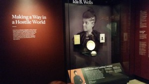 1. Ida B. Wells plate. NMAAHC. Photo Blair Zaid