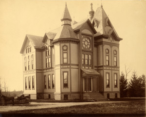Photograph of the Botanical Laboratory circa 1885. Image courtesy of MSU Archives & Historical Collections