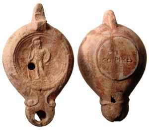 Ancient Roman Oil Lamps, 1st-5th century AD - Image Source