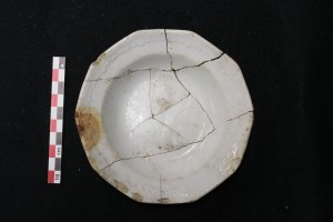 "Small ""Scalloped Decagonal"" bowl produced by Davenport. Image source: Lisa Bright"
