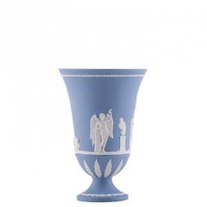 Wedgewood blue jasperware. Image Source