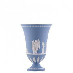 Wedgewood blue jasperware. Image Source