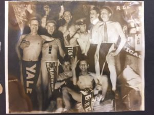 some fraternity shenanigans (Scrapbook #57) Image courtesy of MSU Archives & Historical Collections