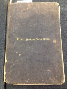​Historic cookbook from Port Huron, MI. Image source: MSU Special Collections