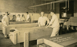 Cheese-making class, 1915. Image courtesy of MSU Archives & Historical Collections.