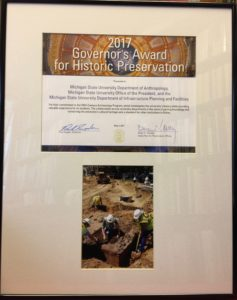 2017 Governor's Award for Historic Preservation